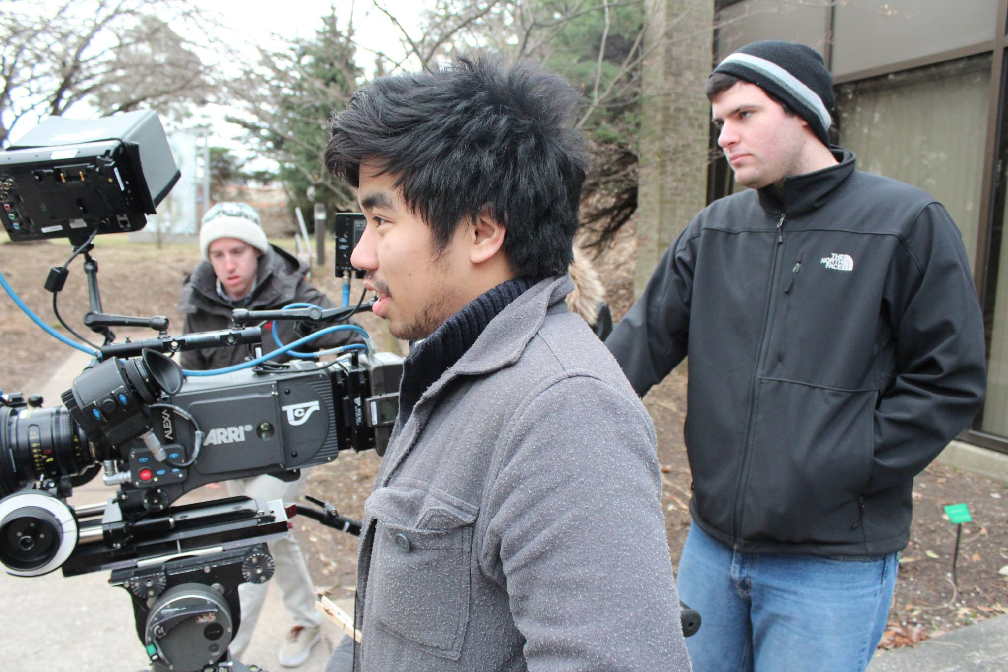 Hofstra Film Program - On Set Stills