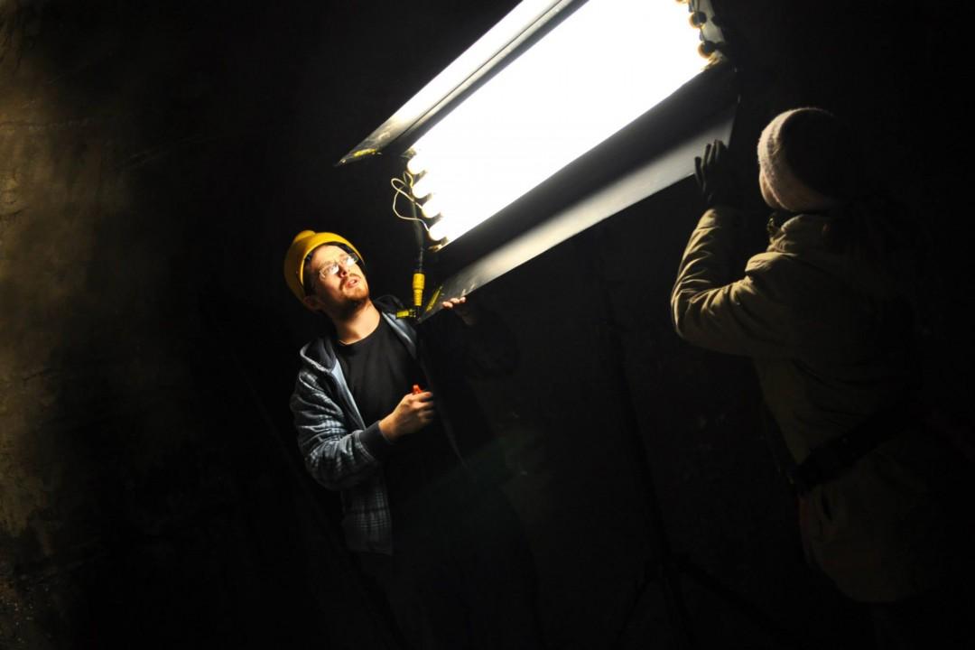 Hofstra Film Program - On Set Stills